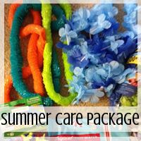Care Package: Summer Theme  // Love From Home