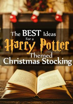 If you live with or have a close friend who is a harry potter fanatic then they will LOVE this Harry Potter Themed Christmas Stocking!