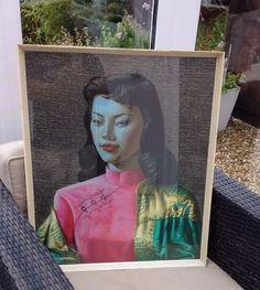 Tretchikoff Miss Wong Vintage Print 1960s behind glass in original frame in Art, Prints, Modern (1900-79) | eBay