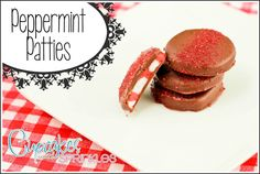 Peppermint Patties ...easier than you would think! YUM.
