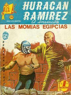 Huracán Ramírez vs Las momias egipcias