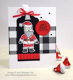 DOstamperSTARS Thursday Challenge #257: Santa's Suit Bundle - DOstamping with Dawn, Stampin' Up! Demonstrator
