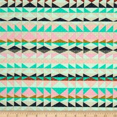 Cotton & Steel Mesa Overlook Serape Pink from @fabricdotcom  Designed by Alexia Marcelle Abegg of Green Bee Design for Cotton + Steel, this cotton print is perfect for quilting, apparel and home decor accents. Colors include mint, blush, peach, navy, grey, and turquoise.