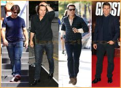 Tom Cruise Casual Wear and Formal Wear Outfits   Fashion Join