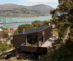 It took 10 years and two major earthquakes, but this house built on a steep hillside section in Lyttelton shows the value of collaboration
