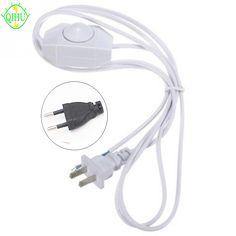 1.8 M AWG Sem Polaridade LED Interruptor Dimmer Cabo Modulador de Luz Linha Lâmpada Controlador Dimmer Para Lâmpada de Mesa 220 V eletricidade wiree