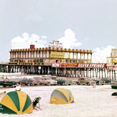 Main Street Pier 1950s In Daytona Beach Historical Pictures