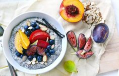 Vegan Vanilla-Almond Chia Breakfast Pudding