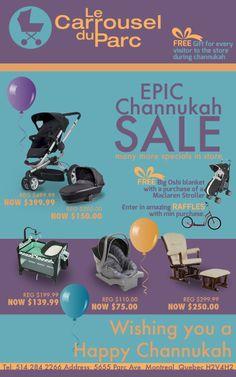 Epic Sale at Le Carrousel du Parc! Visit to believe it!