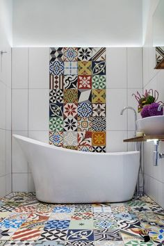 100 лучших идей дизайна плитки в ванной комнате на фото