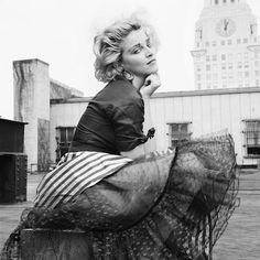 http://www.style.com/stylefile/2013/11/madonna-alphabet-citys-cinderella/ #Madonna #Iconic #80s