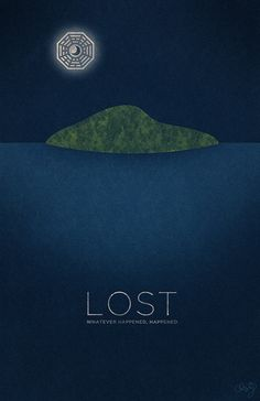 LOST minimalist poster design for one of my favorite television shows. Still a work in progress.