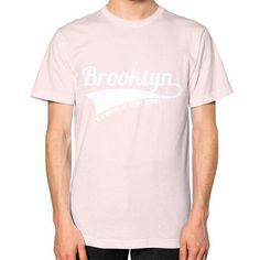 Fashions brooklynx Unisex T-Shirt (on man)