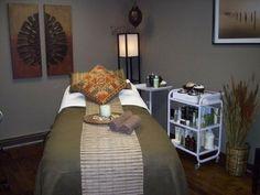 Esthetician Room Setup Spa Treatments