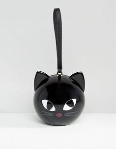 Lulu Guinness - Kooky Cat - Pochette a sfera