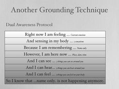 1000+ images about grounding techniques on Pinterest | Worksheets ...