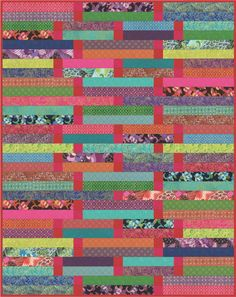 Jelly Roll Quilts, part 1 of 2 Quilt Inspiration: Free Pattern Day! Jelly Roll Quilts, part 1 of 2 Strip Quilt Patterns, Jelly Roll Quilt Patterns, Bargello Patterns, Tatting Patterns, Jellyroll Quilts, Easy Quilts, Amish Quilts, Scrappy Quilts, I Spy Quilt