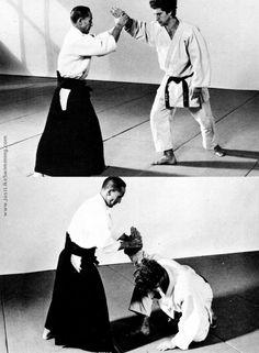 Shioda Gozo applying nikkyo