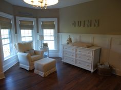 sophisticated and neutral baby nursery
