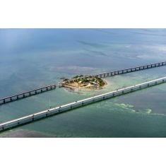 Florida, Keys, Marathon,PIgeon Island, 7 Mile Bridge, Amerika, Fototapete Merian, Fotograf: G. Lengler