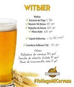 Esta es una cerveza belga basada en trigo, con ligera dulzura, cítrico picante, bajo carácter a hierbas y una sensación suave y cremosa. La clave de esa sensación es una dosis de trigo y avena.  Se trata del estilo WitBier, si alguna vez probaste esta cerveza, querrás hacer la tuya, y aquí te decimos cómo...