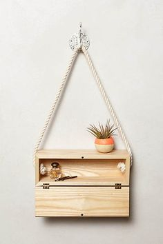 Handcrafted Hanging Block #Anthropologie