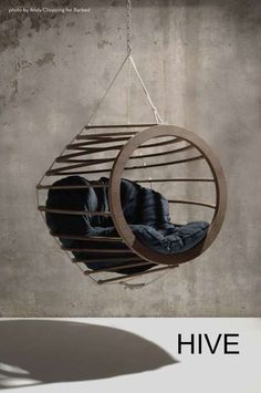 Suspended Pod Furniture: Hanging Chairs Collection