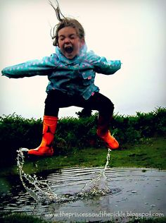 Used to love playing in the rain.