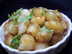 Simple Glazed Pearl Onions