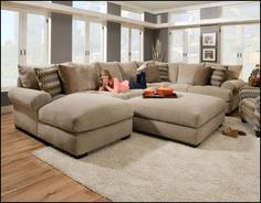Deep Seated Sofas Sectionals