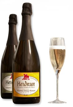 Heidrun Meadery - Point Reyes Station, CA; Founded in 1997; Producing a variety of Champagne-like meads.