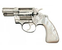 Engraved Colt Detective Special Double Action Revolver