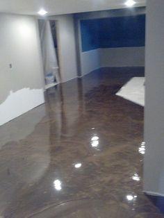 Mocha Floor