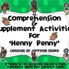 Are you teaching a unit on 'Henny Penny' and would love a pack of comprehension