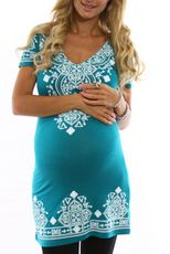Maybe try here for tunics, Callie... Jade Print Maternity Tunic- sweetpea maternity $27.19 sale