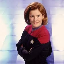 Captain Janeway - don't care what you say about her - She had MOXIE!