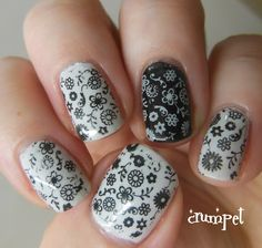 stamp nail art, you can buy a good value stamp nail polish here http://www.bornprettystore.com/specialize-nail-polish-image-stamp-varnish-paint-p-1323.html.    10% off code PINL91.