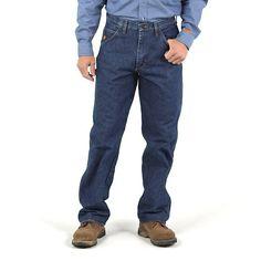 Wrangler Men's Riggs Workwear Flame Resistant Carpenter Pant (Size: 35x34)