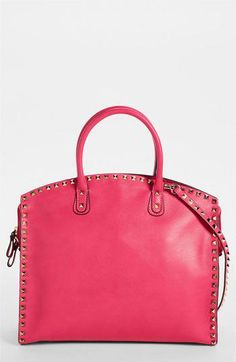 5056512eced47d Valentino 'Rockstud' Leather Dome Satchel ... Lady like with studs? Yes