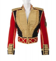 Jackson Leave Me Alone Military Cotton Jacket Cropped military jacket Michael Jackson Jacket, Michael Jackson Outfits, Michael Jackson Merchandise, Military Inspired Fashion, Band Uniforms, Military Looks, King Fashion, Casual Outfits, Fashion Outfits