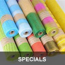 Deco Mesh, Wholesale Deco Poly Mesh Supplies, Floral Mesh Fabric | Polymesh.com