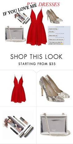 """""""LOVE"""" by sofie-futo on Polyvore featuring Ally Fashion, Stefanel, Laura Mercier, Rochas, women's clothing, women, female, woman, misses and juniors"""