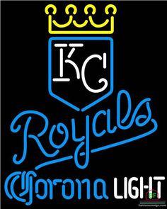 Corona Light Kansas City Royals Neon Sign MLB Teams Neon Light
