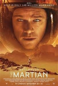 """73rd Golden Globe Awards WINNER for Best Picture, Musical or Comedy - """"The Martian,"""" an adventure Sci-Fi movie directed by Ridley Scott and Matt Damon, written by Drew Goddard. Stars: Matt Damon, Jessica Chastain, Kate Mara, Kristen Wiig, Sebastian Stan, Sean Bean. A manned mission to Mars, Astronaut Mark Watney is presumed dead after a fierce storm left behind by his crew. Watney has survived, finds himself stranded and alone on a hostile planet. The crewmates plot a daring rescue..."""