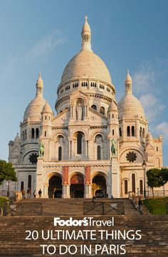 Basilique du Sacre Coeur is one of our picks for things to do in Paris.
