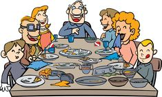 Family Mealtime is very important for the family to have their good communication. Good food makes everything better.