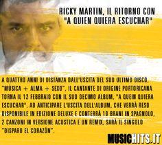 Nuovo progetto per +Ricky Martin
