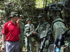 SAF soldiers take care not to 'thrash' Brunei jungle while training: PM Lee  ||  SINGAPORE — Even as Singapore Armed Forces (SAF) soldiers undertake realistic training in the jungles of Brunei, they take care to keep the area in good condition for future trainees, Prime Minister Lee Hsien Loong said on Friday (Oct 6) following a visit to observe jungle and survival training in Temburong. Mr…