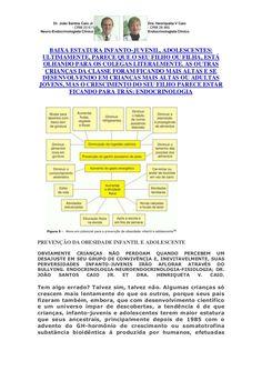 crescente-caos-para-criana-infanto-juvenil-e-adolescentes-baixa-estatura by VAN DER HAAGEN via Slideshare