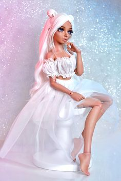 Beautiful Barbie Dolls, Pretty Dolls, Cute Dolls, Bratz Doll, Ooak Dolls, Dolly Fashion, Fashion Dolls, Barbie Tumblr, Barbie Fashionista Dolls